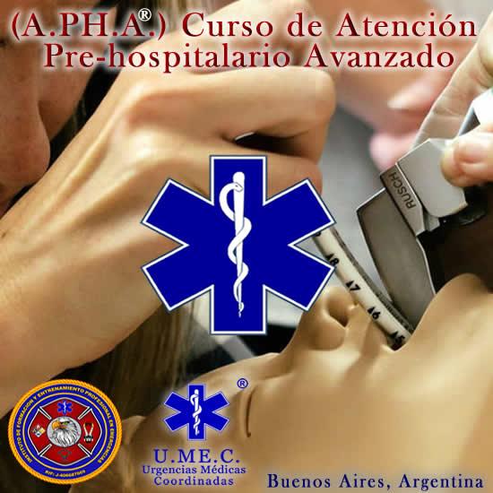 Curso de atencion pre hospitalaria avanzada